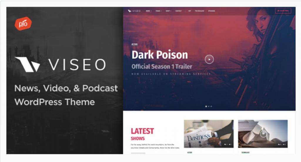 wordpress podcast theme