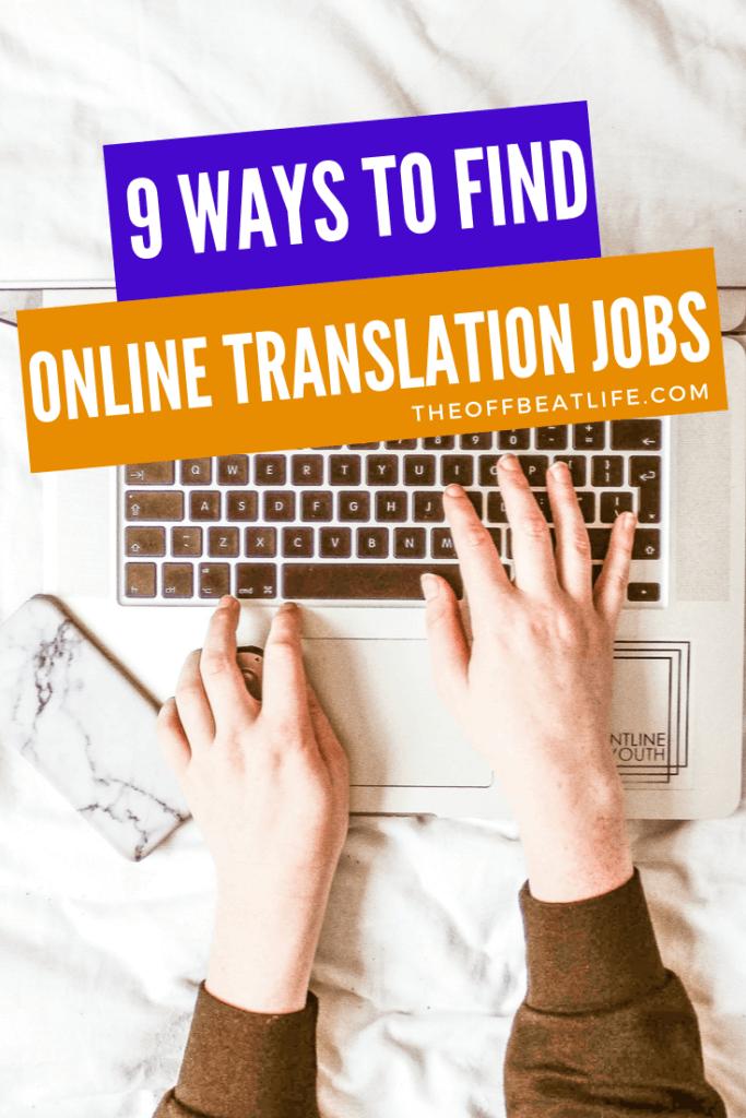 translation job