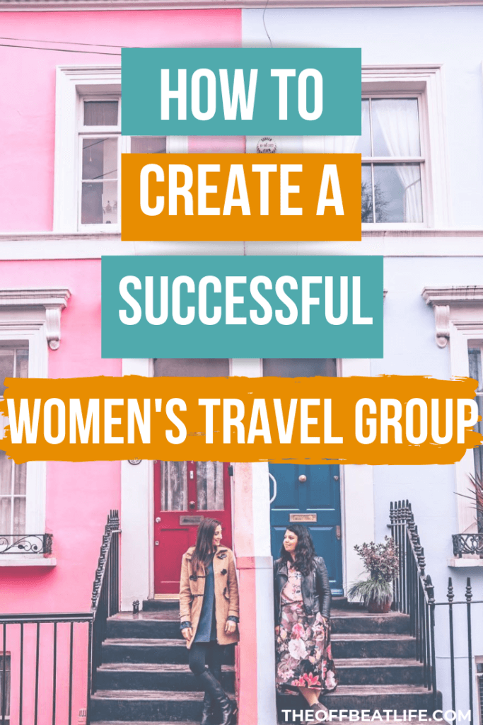 women travel group
