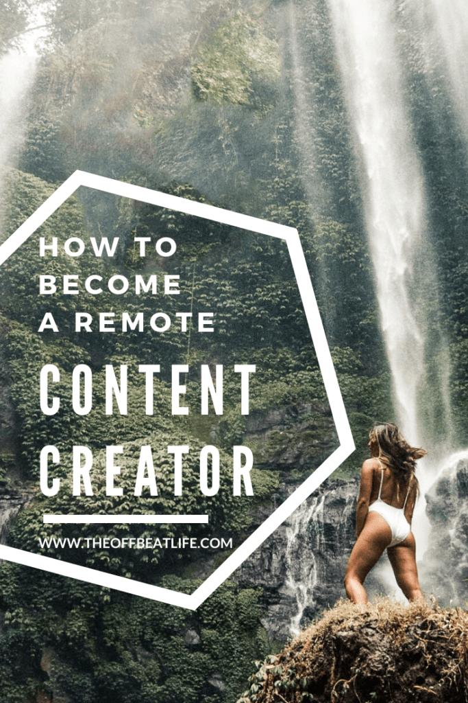 social media content creator