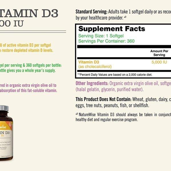 top vitamin d supplement