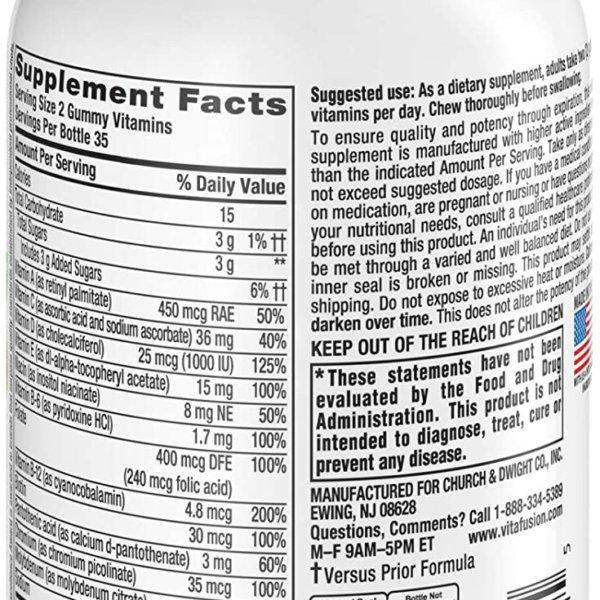 adult gummies vitamin