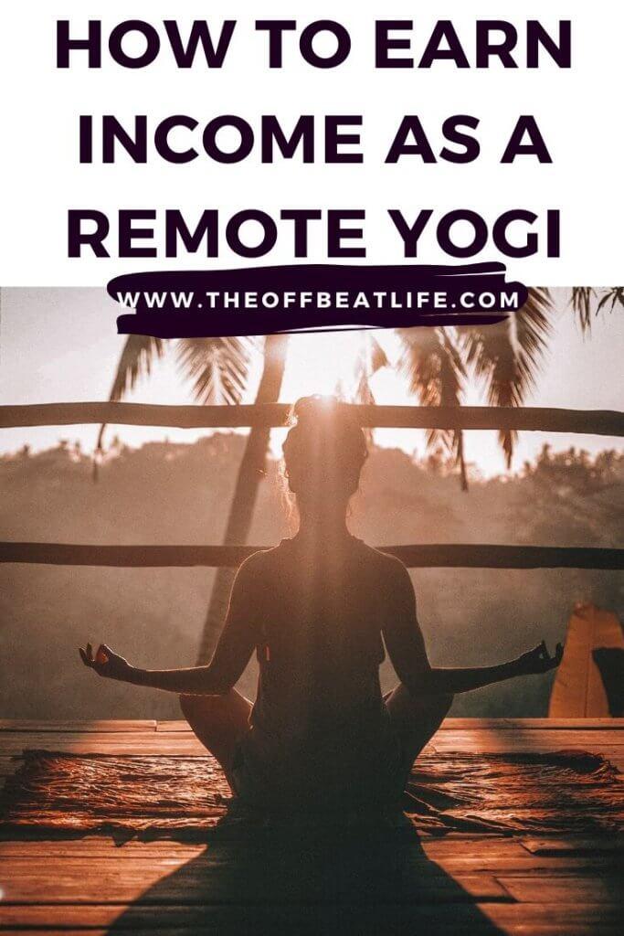 nomadic yoga teacher