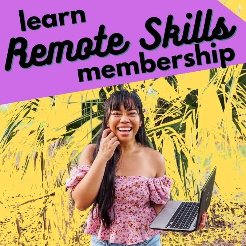 learn remote skills