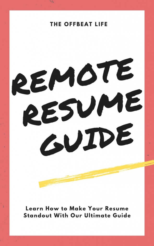 remote resume guide