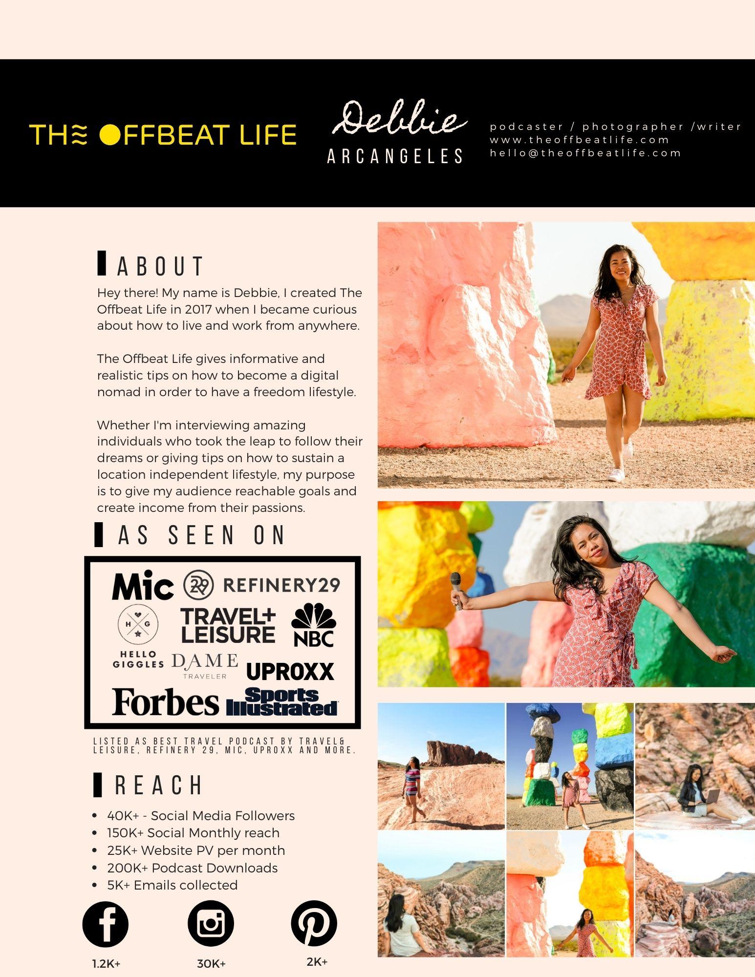 the offbeat life mk